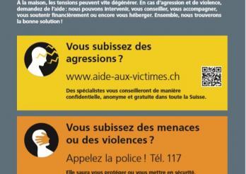 Affiche _ Contre la violence domestique