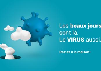 Les beaux jours sont là. Le virus aussi.