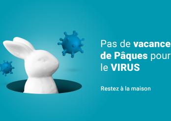 Pas de vacances de Pâques pour le virus
