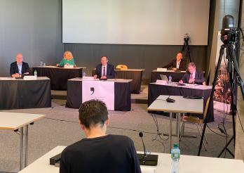 Conférence de presse du 22.04.2020
