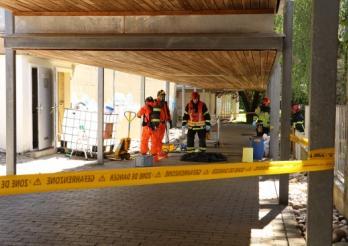Accident chimique à Estavayer-le-Lac / Chemieunfall in Estavayer-le-Lac