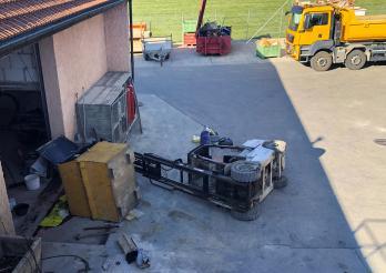 Un ouvrier blessé dans un accident de travail à Siviriez