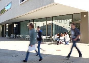 image de quelques élèves au collège de Gambach