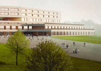 Projet d'extension du Gymnase intercantonal de la Broye