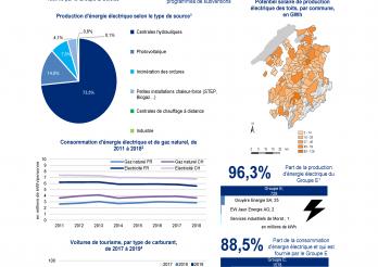 Aspects énergétiques dans le canton de Fribourg, 2018