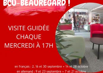 Visites guidées BCU-Beauregard