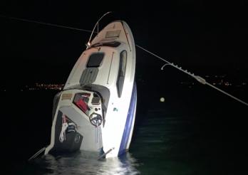 Accident de navigation à Estavayer-le-Lac / Schiffsunglück bei Estavayer-le-Lac