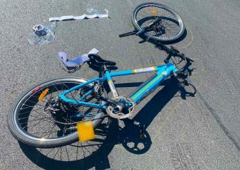 Un cycliste renversé et blessé dans un accident à Posieux / Ein Radfahrer wurde bei einem Unfall in Posieux angefahren und dabei verletzt