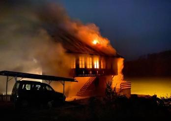 Incendie d'une habitation à Flamatt / Hausbrand in Flamatt