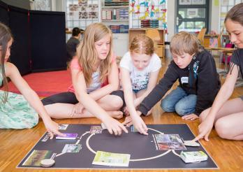 Sensibilisation à la gestion des déchets dans les classes fribourgeoises