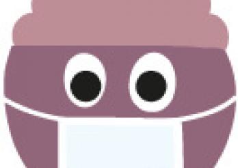Emoji mit Maske