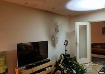 Début d'incendie dans un appartement au 7ème étage d'un immeuble à Fribourg / Brandausbruch in im 7. Stock eines Wohnhauses in Freiburg