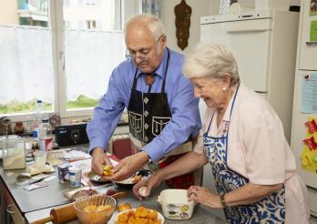 Ernährung von Senioren