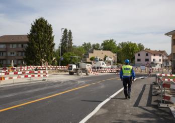 Kantonspolizei - Baustellen