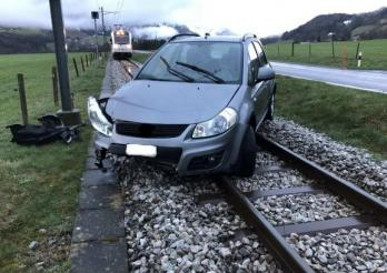 Accident circulation à Neirivue