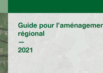Couverture Guide pour l'aménagement régional