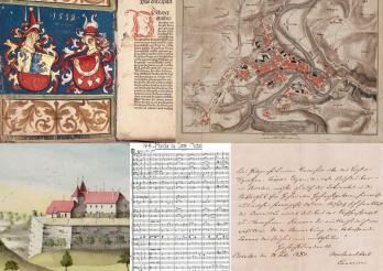 Manuscrits, incunables et archives de la Bibliothèque cantonale et universitaire Fribourg