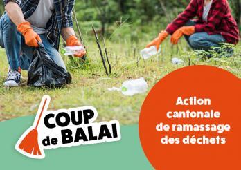 Coup de balai (action cantonale ramassage des déchets)