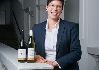 Carina Yerly, administratrice des Vignobles de l'Etat