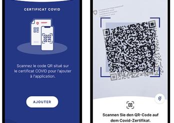 Covid Zertifikat App