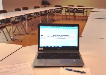 Séance de l'Association fribourgeoise des conservatrices et des conservateurs du Registre foncier