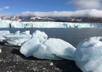 Spitzbergen Landschaften Natur
