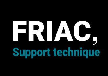Support technique FRIAC