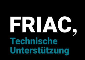 FRIAC-Technische Unterstützung