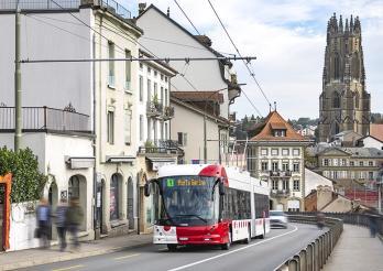 Trolleybus TPF avec batterie