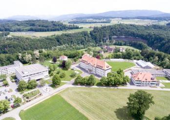 Photo aérienne Campus Grangeneuve-Posieux