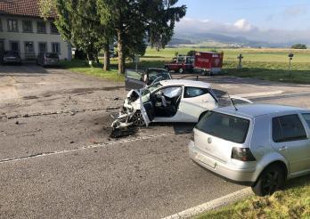 Deux automobilistes blessés dans un accident à Autigny
