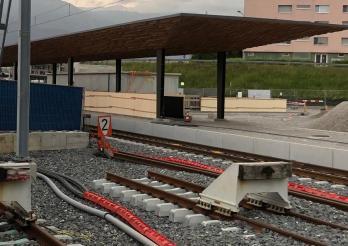 Gare de Bulle / Bahnhof Bulle
