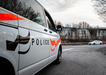Un automobiliste tente de se soustraire au contrôle de police