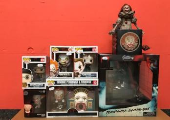 1 lot de figurines du film d'horreur (Ça/It)