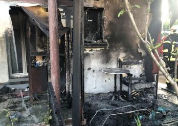 Deux incendies provoqués par des cigarettes / Zwei Brände durch Zigaretten ausgelöst