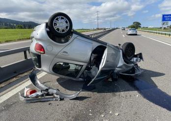 Accident sur l'A12 - Une voie fermée pendant plusieurs heures