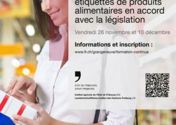"""La formation """"Concevoir des étiquettes de produits alimentaires en accord avec la législation"""" se déroule sur deux jours."""