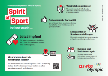 Swiss Olympic - Impfung