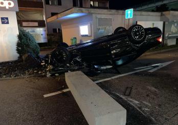 Accident à Flamatt