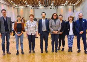 Delegation des Tessiner Parlaments im Forum Fribourg