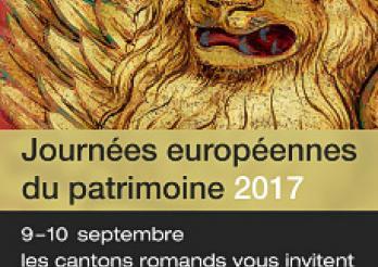 Flyer des Journées européennes du patrimoine 2017