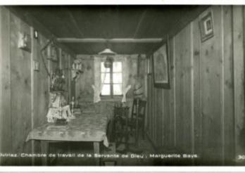 Chambre de travail de Marguerite Bays