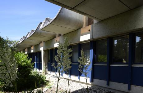 Saint-Aubin, l'ancien centre de recherche Geigy