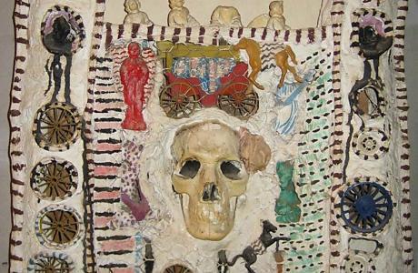 niki de saint phalle shouting painting