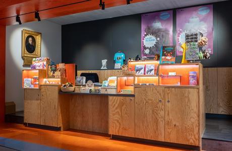 Shop des NHMF