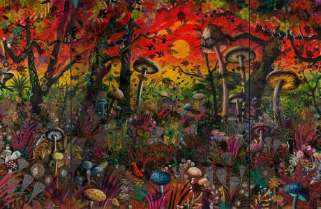 MS.Bastian & Isabelle L., Paradis mystérieux Automne Herbst, copyright artistes