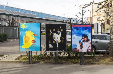 Simplement Poussins - affiche en ville