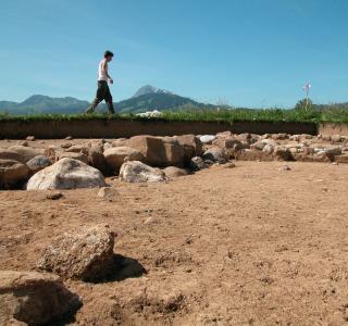 Intervention archéologique à Bulle/La Prila