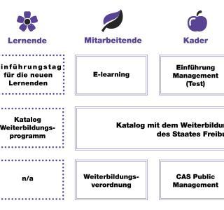 Weiterbildungsangebot Staat Freiburg