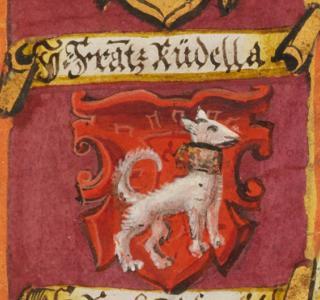 Wappen Rudella (Detail Katharinenbuch)